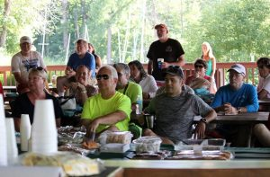 Racers at the Skippers Meeting