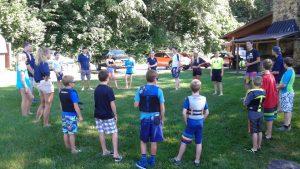 On SHore activities at Sail Camp 2016