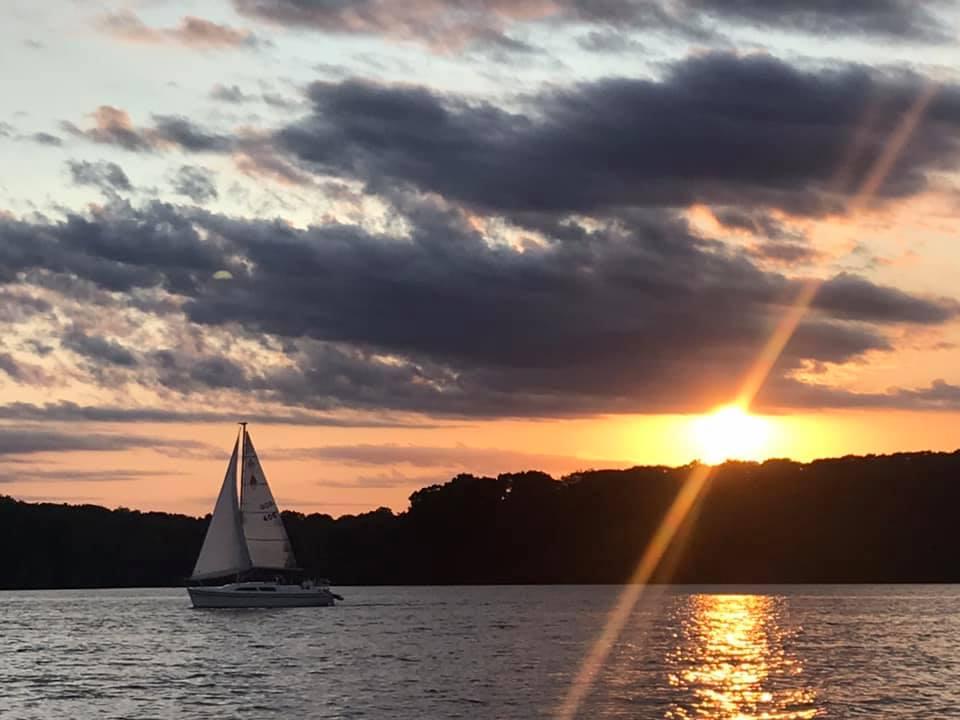 ECSC sunset