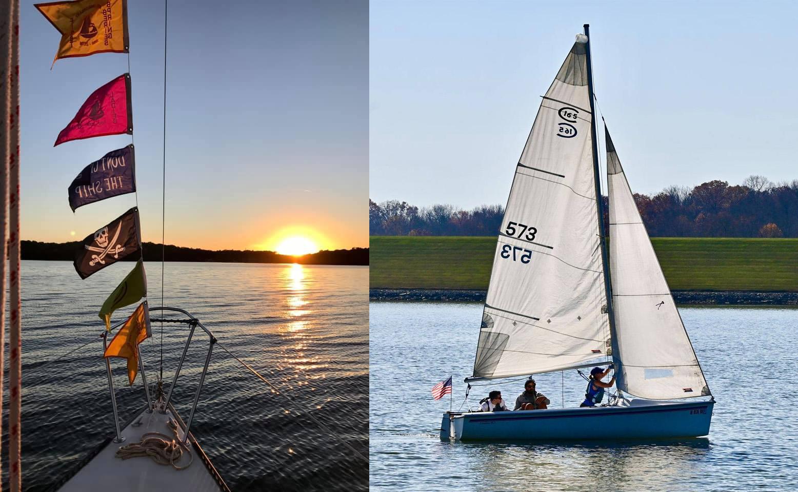 sailboat flags