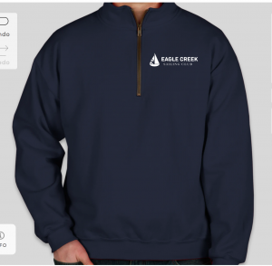 ECSC quarter zip jacket