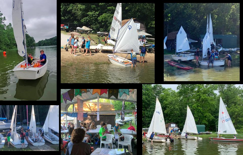 ECSC Junior Sail Camp 2021 Collage
