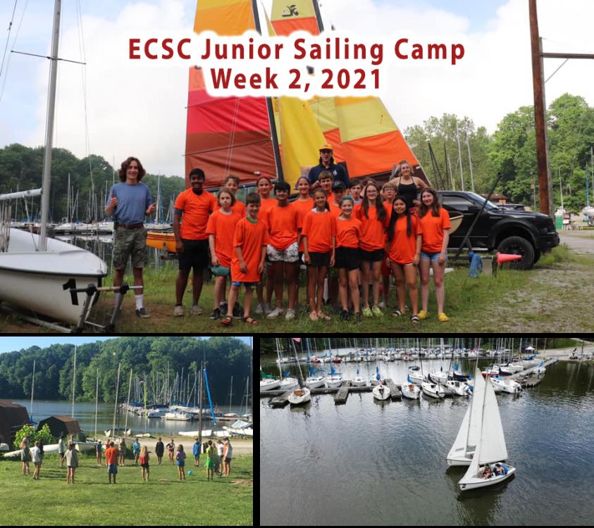 ECSC Junior Sail Camp