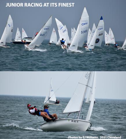 Junior sailing 420
