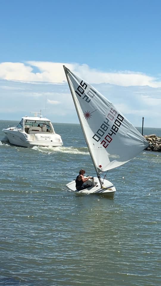 Junior sailing 1
